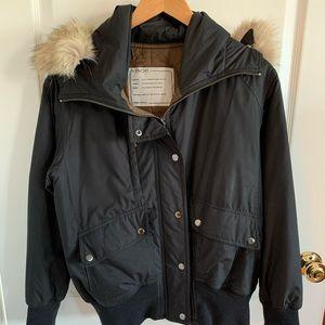 Vince fur trimmed jacket